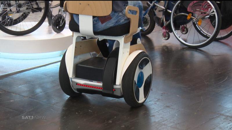 Innovationen auf der Rehacare (Foto: SAT.1 NRW)