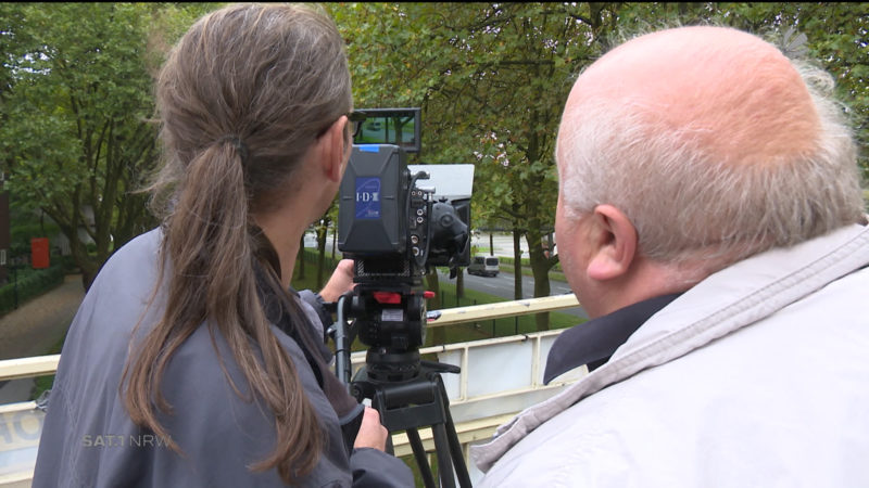 Neuverfilmung des Ruhrschnellwegs (Foto: SAT.1 NRW)