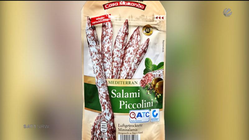 Salami mit Salmonellen (Foto: SAT.1 NRW)
