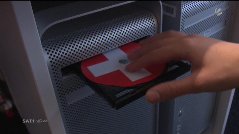 Schweizer Spion hat NRW-Finanzbeamte ausspioniert (Foto: SAT.1 NRW)