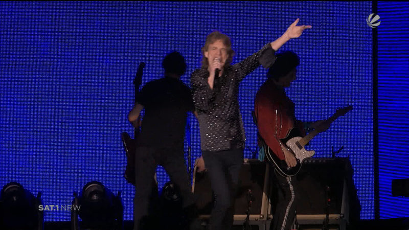 Rolling Stones in Düsseldorf (Foto: SAT.1 NRW)