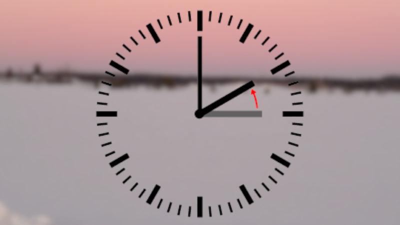 Wenn die Uhren zurückgestellt werden... (Foto: SAT.1 NRW)