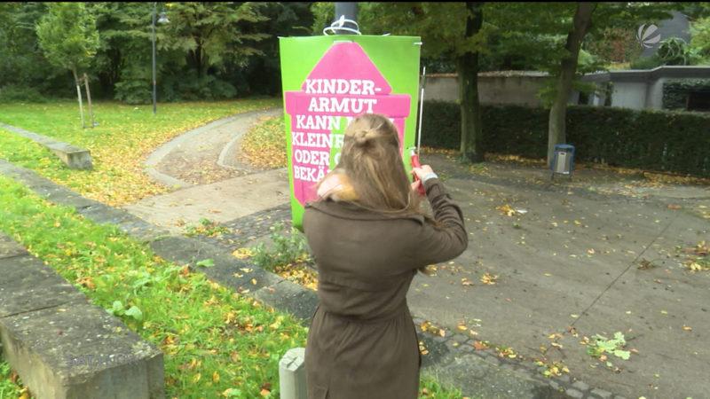 Nicht entfernte Wahlplakate (Foto: SAT.1 NRW)