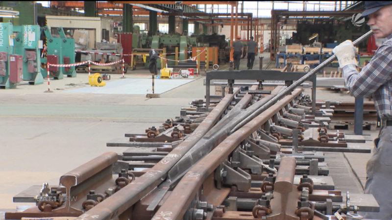 Neue Produktionshalle nach Feuer in Wittener Weichenwerk (Foto: SAT.1 NRW)
