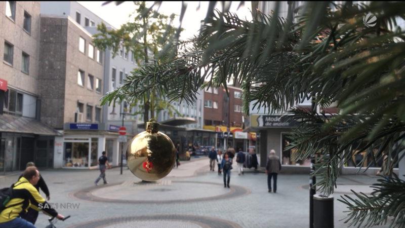 Wenn das Weihnachtsgeschäft Monate vorher beginnt (Foto: SAT.1 NRW)