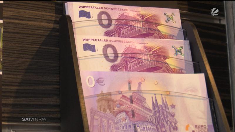 Neuer O-Euro-Schein (Foto: SAT.1 NRW)