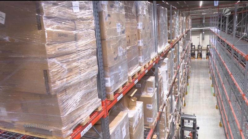 Amazon rüstet fürs Weihnachtsgeschäft auf (Foto: SAT.1 NRW)