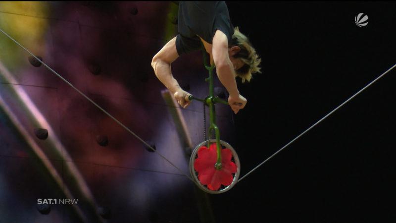 Behind the Scenes beim Cirque Du Soleil in Köln (Foto: SAT.1 NRW)