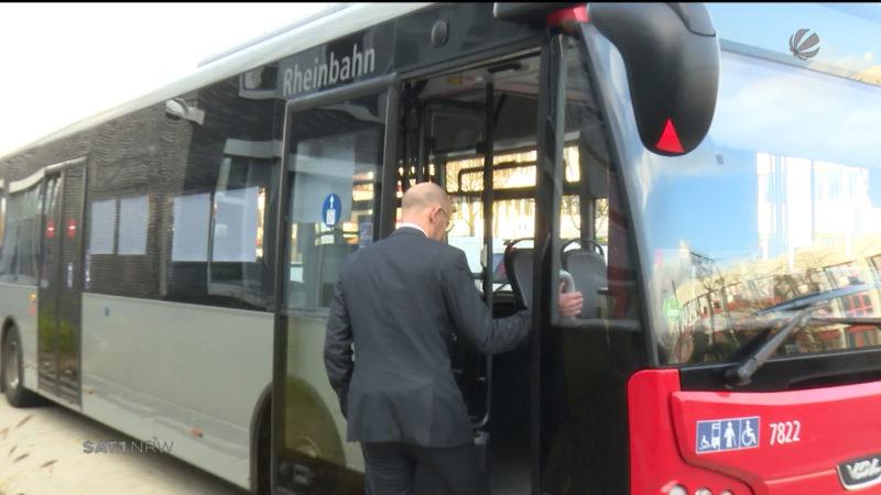 Düsseldorf schafft neue Diesel-Busse an (Foto: SAT.1 NRW)