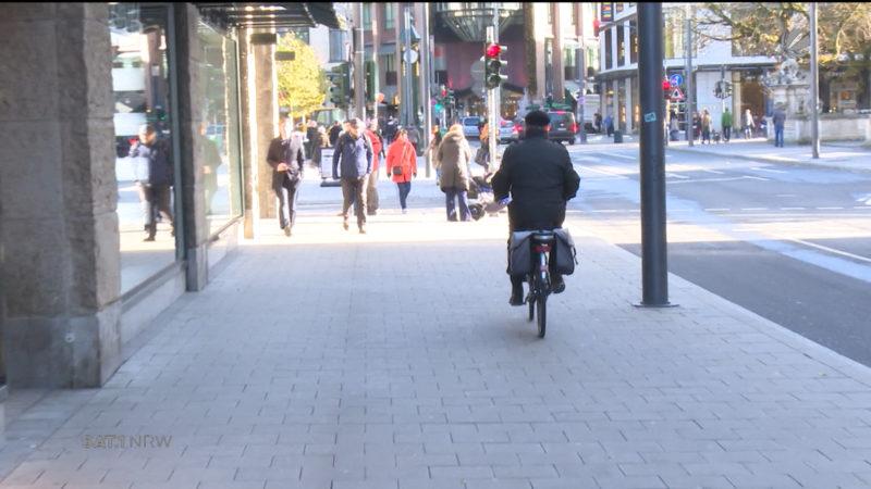 Stärkere Kontrollen für Radfahrer? (Foto: SAT.1 NRW)