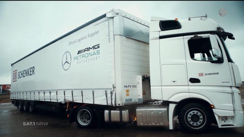 Formel 1: Die Logistik hinter den Kulissen (Foto: SAT.1 NRW)