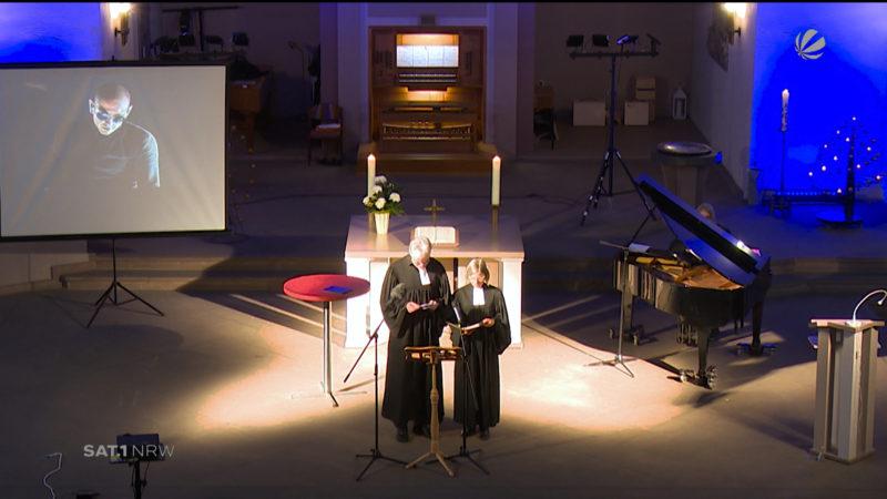 Gottesdienst in Gedenken an Linkin-Park-Sänger (Foto: SAT.1 NRW)