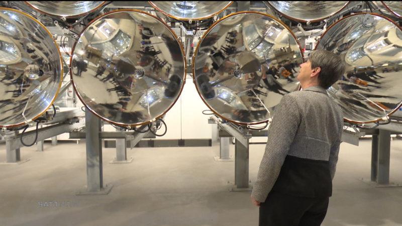 Umweltministerin besucht Deutsches Zentrum für Luft- und Raumfahrt (Foto: SAT.1 NRW)