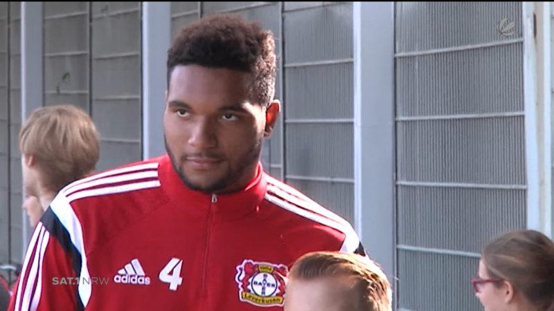Bayer-Spieler zu Barca? (Foto: SAT.1 NRW)