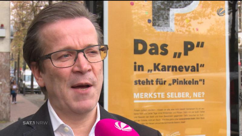 Neue Image-Kampagne zu Karneval (Foto: SAT.1 NRW)