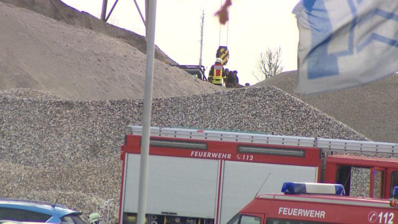 Arbeiter verschüttet (Foto: Schulmann)