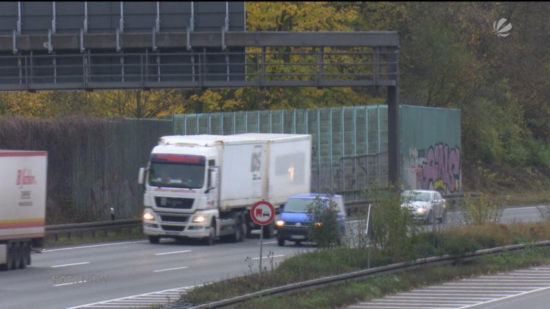 Hagen: Anwohner kämpfen gegen A1-Lärm an (Foto: SAT.1 NRW)