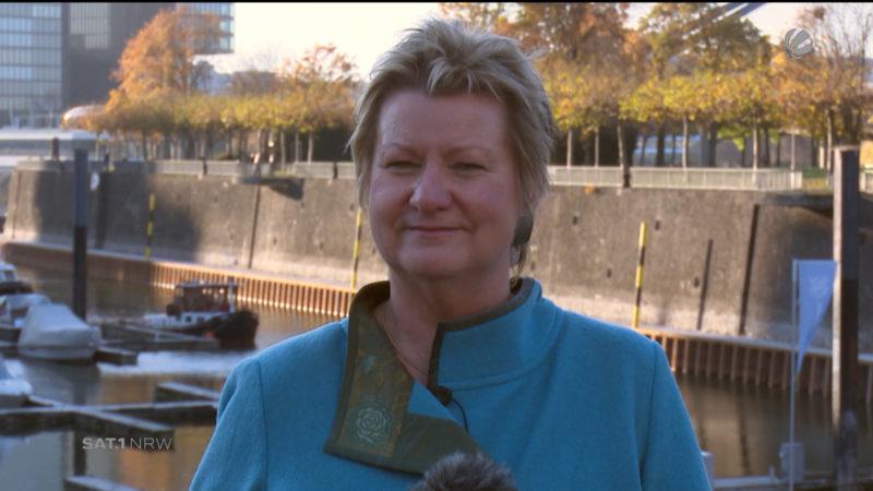 Interview mit Sylvia Löhrmann (Foto: SAT.1 NRW)