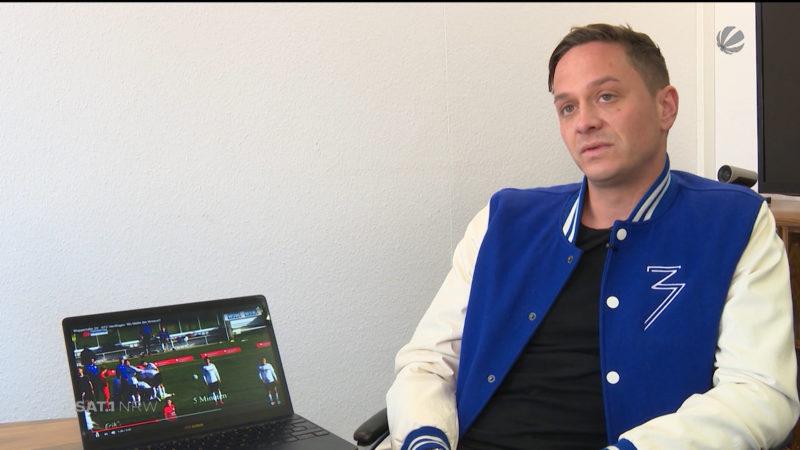 Nach Verletzungs-Drama in Wuppertal: Christian Müller im Interview (Foto: SAT.1 NRW)