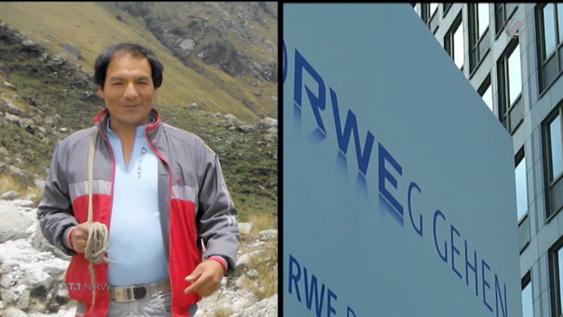 Peruanischer Bauer klagt gegen RWE (Foto: SAT.1 NRW)