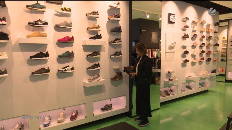Sneaker als Geldanlage (Foto: SAT.1 NRW)