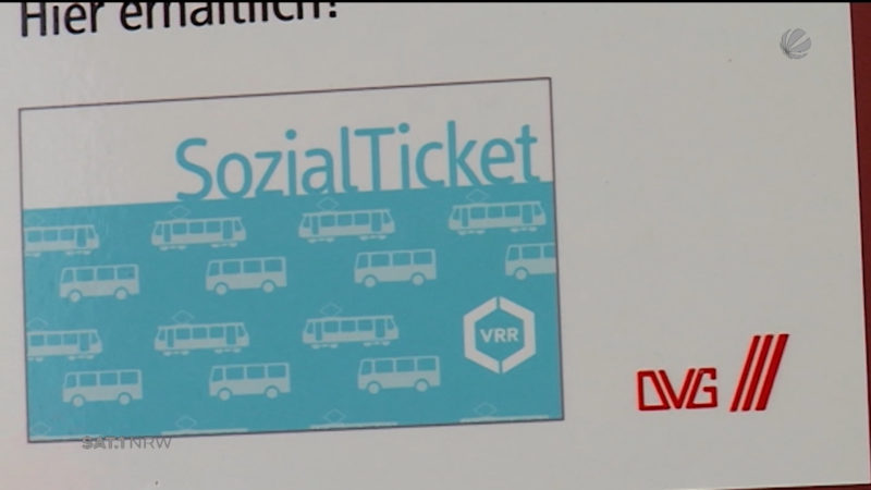Sozialticket weg (Foto: SAT.1 NRW)