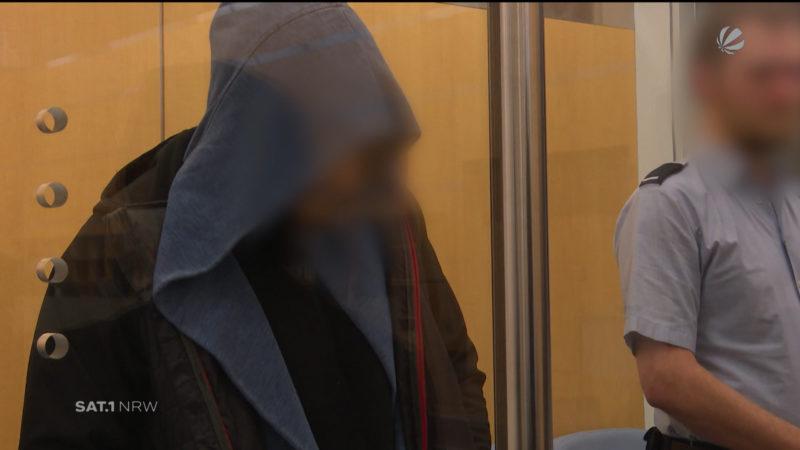 Mutmaßliche IS-Terroristen vor Gericht (Foto: SAT.1 NRW)