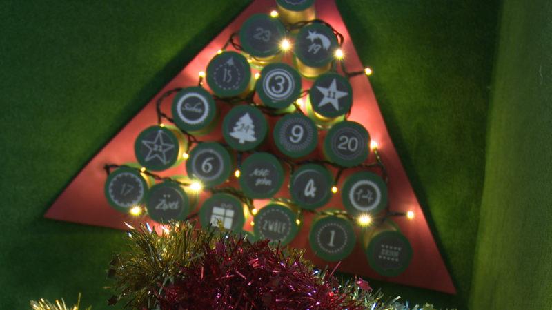 Strampeln für Weihnachtsbeleuchtung (Foto: SAT.1 NRW)