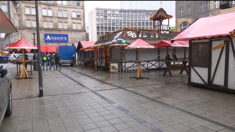 Terrorangst auf dem Weihnachtsmarkt (Foto: SAT.1 NRW)
