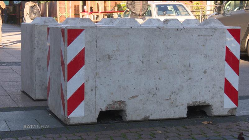Sicherheit auf dem Weihnachtsmarkt (Foto: SAT.1 NRW)