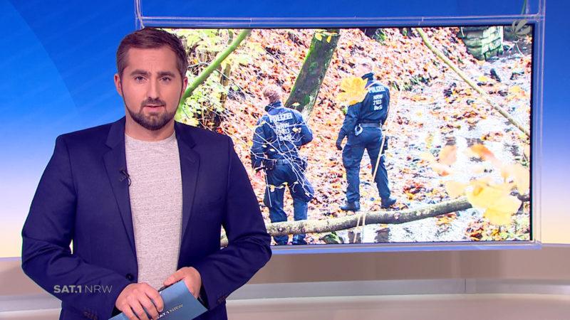 Wuppertal: Totes Baby im Wald entdeckt (Foto: SAT.1 NRW)