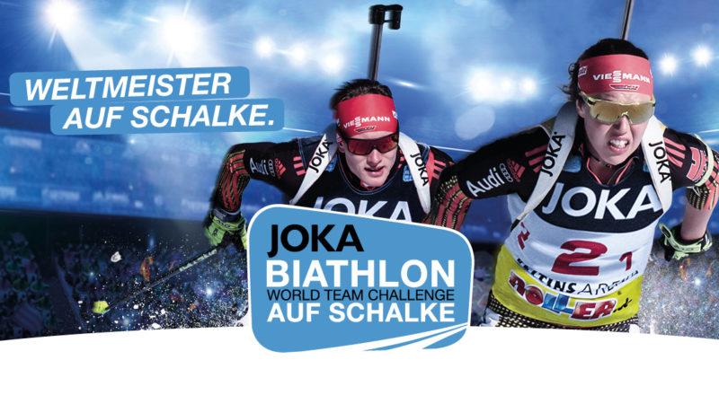 Zu Gewinnen: Tickets für den Biathlon auf Schalke (Foto: Biathlon auf Schalke)