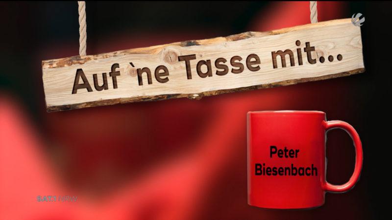 Auf 'ne Tasse mit Peter Biesenbach (Foto: SAT.1 NRW)