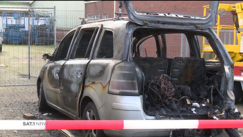 Brand in Bergkamen (Foto: SAT.1 NRW)