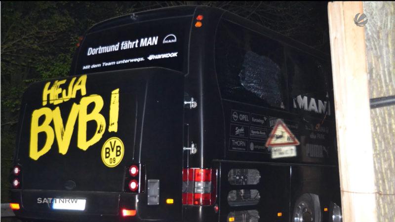 Mutmasslicher BVB-Bomber vor Gericht (Foto: SAT.1 NRW)