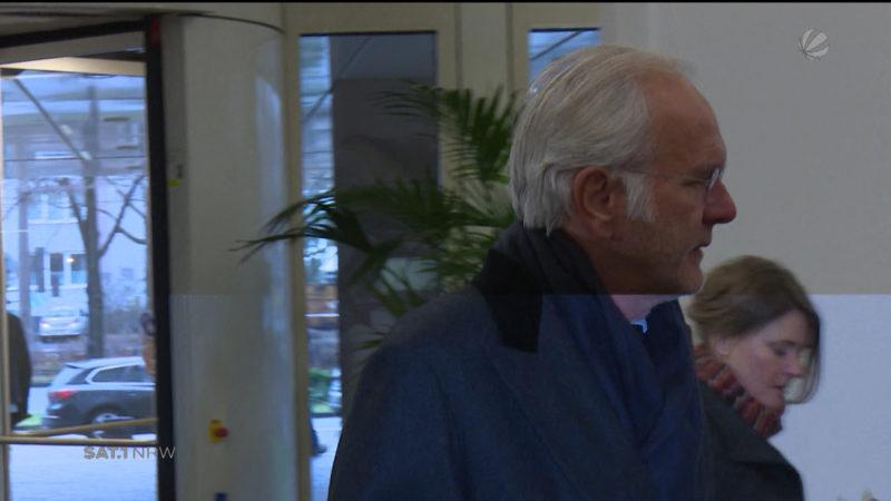 Köln: Harald Schmidt als Zeuge am Amtsgericht (Foto: SAT.1 NRW)