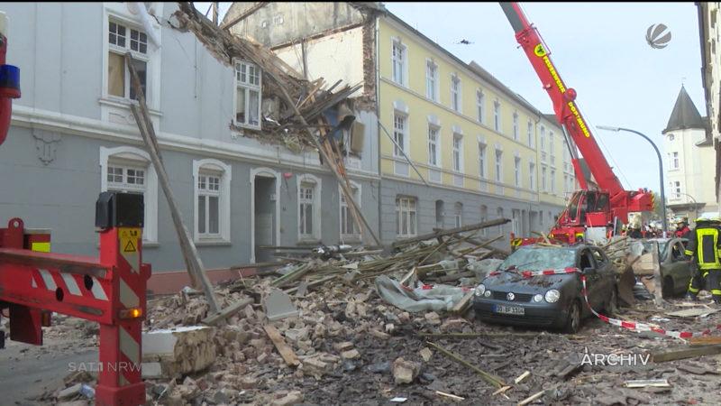 Haus in die Luft gesprengt: Mann muss in die Psychiatrie (Foto: SAT.1 NRW)