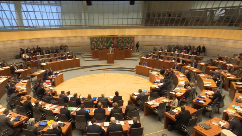 Debatte über den NRW-Haushalt (Foto: SAT.1 NRW)