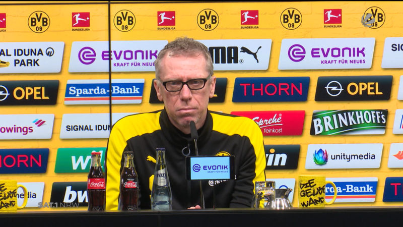 Peter Stöger will Pokal gewinnen (Foto: SAT.1 NRW)