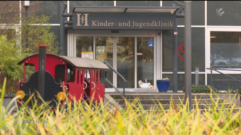 Säugling aus Klinik verschwunden (Foto: SAT.1 NRW)