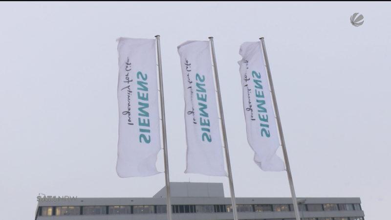 Aktuelle Lage bei Siemens (Foto: SAT.1 NRW)