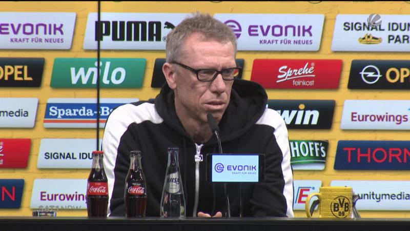 Fußball: Peter Stöger trifft auf Julian Nagelsmann (Foto: SAT.1 NRW)