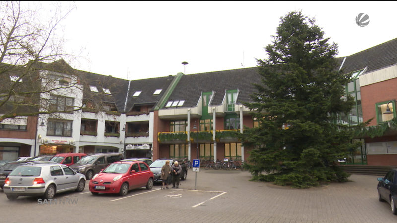 Welvers kahler Weihnachtsbaum (Foto: SAT.1 NRW)