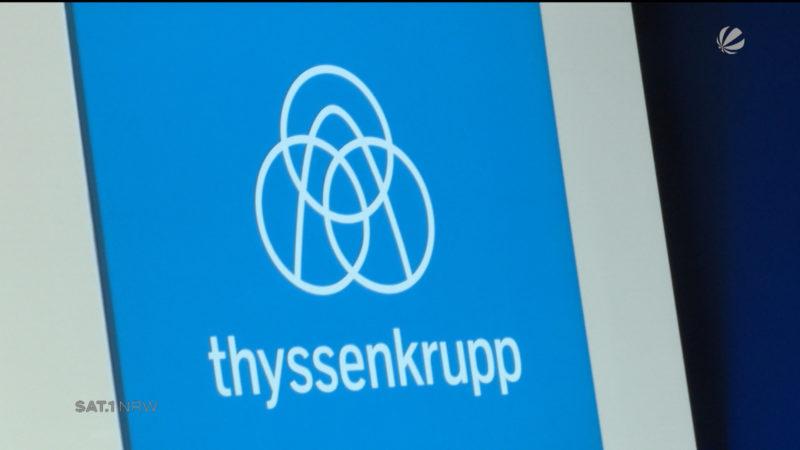 Versammlung bei Thyssen-Krupp (Foto: SAT.1 NRW)