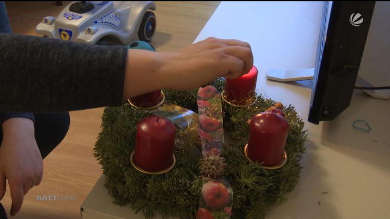 Nach Hannibal-Räumung: Weihnachten im Übergangsquartier (Foto: SAT.1 NRW)