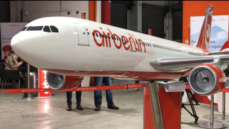 Air Berlin versteigert Inventar (Foto: SAT.1 NRW)