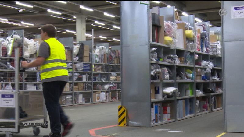 Amazon baut Geschäft in NRW aus (Foto: SAT.1 NRW)