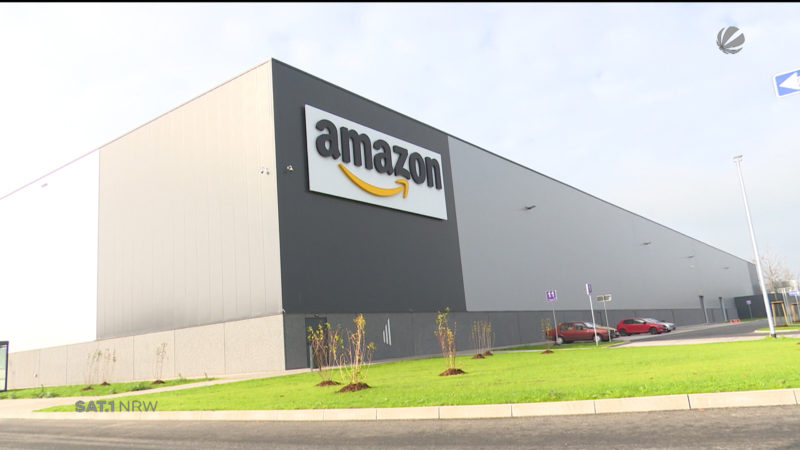 2000 Amazon-Jobs in Oelde (Foto: SAT.1 NRW)
