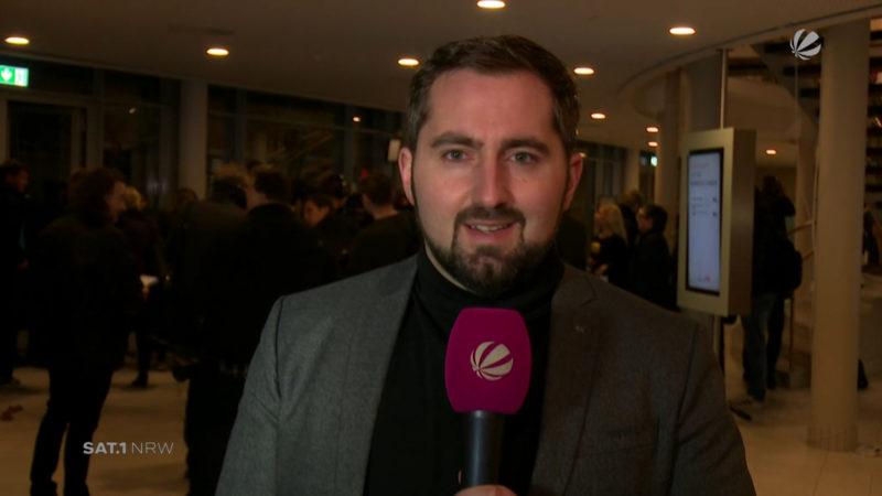 Dortmund: Martin Schulz will SPD-Delegierte überzeugen (Foto: SAT.1 NRW)