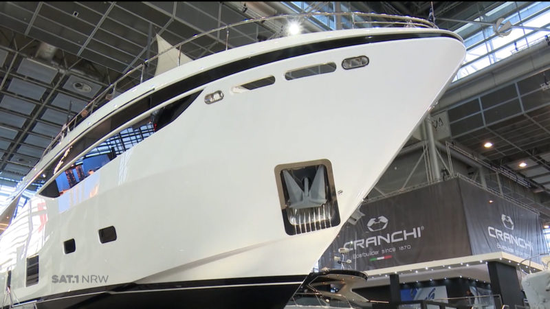 Messe Boot in Düsseldorf (Foto: SAT.1 NRW)